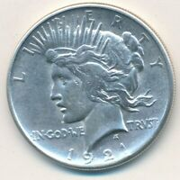1921 PEACE SILVER DOLLAR-KEY DATE GENTLY CIRCULATED DOLLAR-SHIPS FREE INV:3