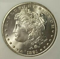 1881 CC NGC MINT STATE 66 MORGAN SILVER DOLLAR $1