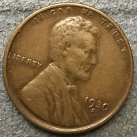 1930 S LINCOLN WHEAT CENT PENNY - BETTER GRADE  FREE SHIP. B724