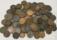 CANADA 1 LARGE CENT PENNY LOT COIN COLLECTION CULLS  155 PIE