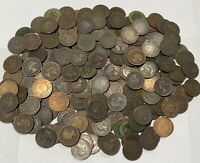 CANADA VICTORIAN 1800S LARGE CENT PENNY LOT COIN COLLECTION