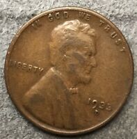 1933 D LINCOLN WHEAT CENT PENNY - BETTER GRADE   FREE SHIP. B739
