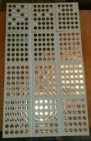 1909 VDB-2019 LINCOLN CENT COLLECTION PDS WHEAT MEMORIAL SET GOOD - BU FREE SHIP