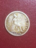 1855 FOUR PENCE