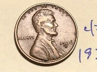 1936-D LINCOLN WHEAT CENT PENNY 4761K
