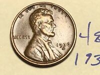 1936 S 1C LINCOLN WHEAT CENT CENT 4858K