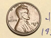 1936 S 1C LINCOLN WHEAT CENT CENT 4854K