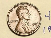 1936 S 1C LINCOLN WHEAT CENT CENT 4853K