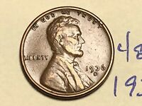 1936 S 1C LINCOLN WHEAT CENT CENT 4851K