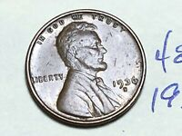 1936 S 1C LINCOLN WHEAT CENT CENT 4848K