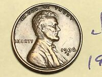 1936 S 1C LINCOLN WHEAT CENT CENT 4846K