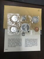 CANADA 1966 ROYAL CANADIAN MINT PROOF LIKE 6 COIN SET 80  SI