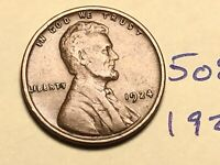 1924 1C BN LINCOLN CENT WHEAT CENT 5083K