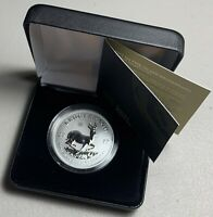 2017 50TH ANNIVERSARY SOUTH AFRICA 1 OZ SILVER KRUGERRAND W/