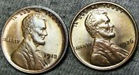1912 1926 LINCOLN CENT WHEAT CENT  ---- GEM BU CONDITION LOT   ----  A835