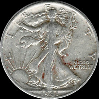 A 1941 S WALKING LIBERTY HALF DOLLAR 90 SILVER US MINT EXACT COIN SHOWN 329