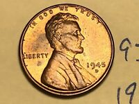 1945-D LINCOLN WHEAT CENT PENNY 1C 9309W