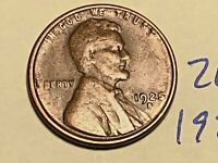 1925-S 1C BN LINCOLN CENT WHEAT CENT 2675K