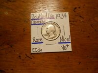 1934 WASHINGTON QUARTER DOUBLED DIE VG  TERRIFIC