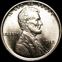 1912 LINCOLN CENT WHEAT CENT  ---- GEM BU  ---- A976