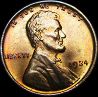 1924 LINCOLN CENT WHEAT CENT ---- GEM BU CONDITION   ---- B024