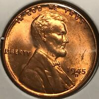 1945 D LINCOLN CENT - FROM UNCIRCULATED ROLL