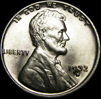 1932-D LINCOLN CENT WHEAT CENT ---- GEM BU ---- B135