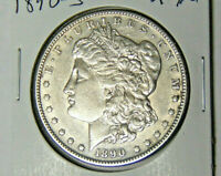 1890-S MORGAN SILVER DOLLAR EXTRA FINE /AU SAN FRANCISCO MINT COIN 62620