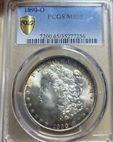 1890-O PCGS MINT STATE 65 MORGAN SILVER DOLLAR