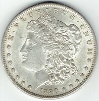 1890-S $1 MORGAN SILVER DOLLAR