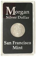 1890-S $1 MORGAN SILVER DOLLAR SLIDER/UNC. BETTER DATE