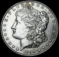 1890-S MORGAN DOLLAR SILVER ---- GEM BU  ---- B253