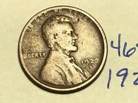 1920-S 1C BN LINCOLN CENT WHEAT CENT 4651K