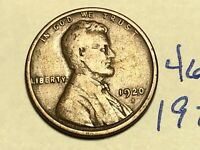 1920-S 1C BN LINCOLN CENT WHEAT CENT 4649K