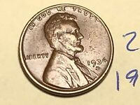 1936-D LINCOLN WHEAT CENT PENNY 2869K