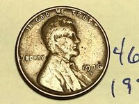 1936 S 1C LINCOLN WHEAT CENT CENT 4693K