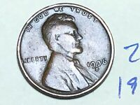1936-D LINCOLN WHEAT CENT PENNY 2855K