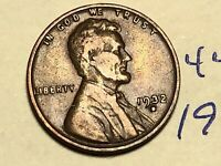 1932-D 1C BN LINCOLN CENT WHEAT CENT 4414K