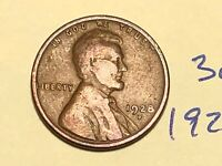 1928-D 1C BN LINCOLN CENT WHEAT CENT 3060K