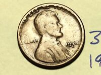 1925-S 1C BN LINCOLN CENT WHEAT CENT 3416K