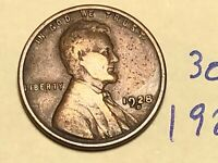 1928-D 1C BN LINCOLN CENT WHEAT CENT 3059K