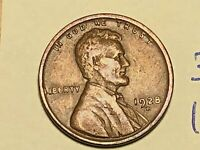 1928-D 1C BN LINCOLN CENT WHEAT CENT 3061K