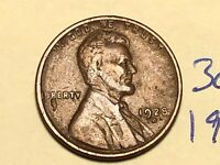 1928-D 1C BN LINCOLN CENT WHEAT CENT 3075K