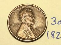 1928-D 1C BN LINCOLN CENT WHEAT CENT 3066K