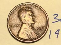 1928-D 1C BN LINCOLN CENT WHEAT CENT 3071K