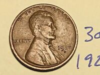 1928-D 1C BN LINCOLN CENT WHEAT CENT 3085K