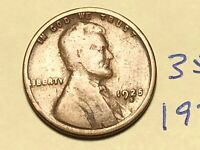 1925-S 1C BN LINCOLN CENT WHEAT CENT 3506K