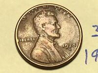 1925-S 1C BN LINCOLN CENT WHEAT CENT 3505K