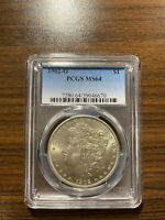 1902-O MORGAN SILVER DOLLAR $1 PCGS MINT STATE 64