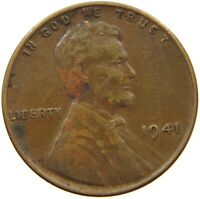 UNITED STATES CENT 1941 LINCOLN A14 089